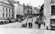 Haverfordwest, High Street c1950
