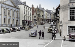 Haverfordwest, High Street c.1950