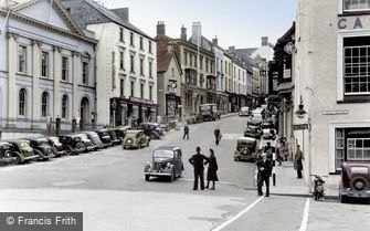 Haverfordwest, High Street c1950