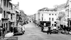 High Street c.1955, Haverfordwest