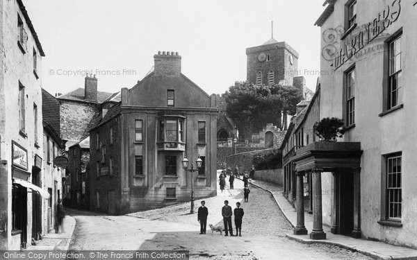 Photo of Haverfordwest, Mariner's Square 1906