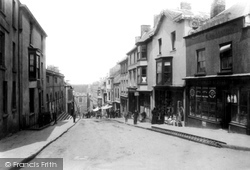 Haverfordwest, Market Street 1898