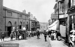 Haverfordwest, Market Street 1906