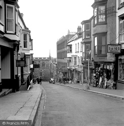 Haverfordwest, Market Street 1950