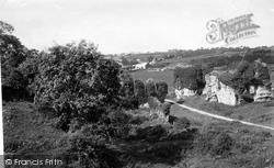 Haverfordwest, Priory Ruins 1890