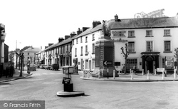 Haverfordwest, Salutation Square c.1960