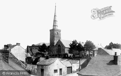Haverfordwest, St Martin's Church 1898