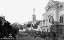 Haverfordwest, St Martin's Church And Bethesda Chapel 1890