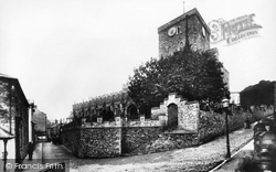 Haverfordwest, St Mary's Church 1898