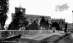 Haverfordwest, St Mary's Church 1899
