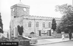 Haverfordwest, St Mary's Church c.1960