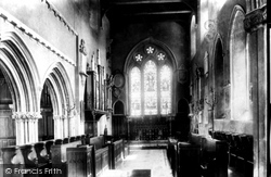 Haverfordwest, St Mary's Church, The Chancel 1899