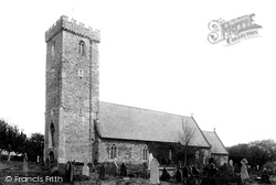 Haverfordwest, St Thomas' Church 1898