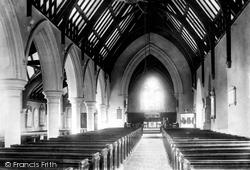 Haverfordwest, St Thomas's Church Interior 1898