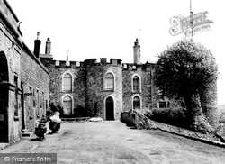 Haverfordwest, The Castle c.1960