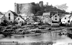 Haverfordwest, The Castle From The River Cleddau 1890