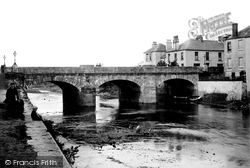 Haverfordwest, The New Bridge 1890