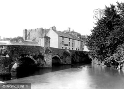 Haverfordwest, The Old Bridge And Castle c.1939