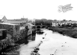 Haverfordwest, The River Cleddau c.1960