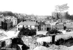 Haverfordwest, The Town And The Castle 1890