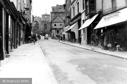 Upper High Street c.1950, Haverfordwest