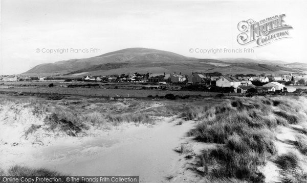 Haverigg, Black Combe from the Sand Dunes c1960