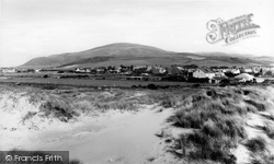 Haverigg, Black Combe From The Sand Dunes c.1960