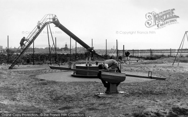 Haverigg, Children's Playground c1955
