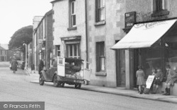 Haverigg, Delivery In Main Street c.1950