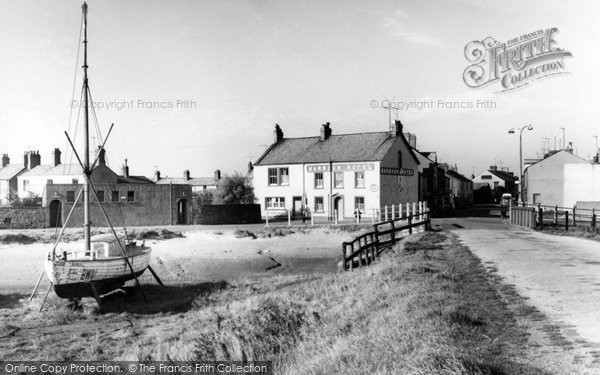 Haverigg, Harbour Corner and Bridge c1960