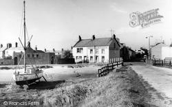Haverigg, Harbour Corner And Bridge c.1960