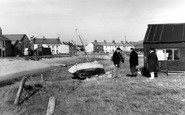 Haverigg, Lazy River and Bridge c1955