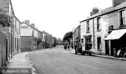 Haverigg, Main Street c.1950