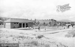 Haverigg, Paddling Pool And Shelter c.1950