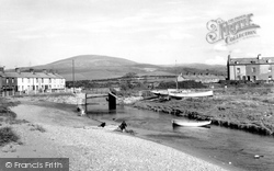 Haverigg, Poolside And Black Combe c.1960