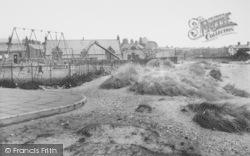 Haverigg, The Beach And Children's Playground c.1955