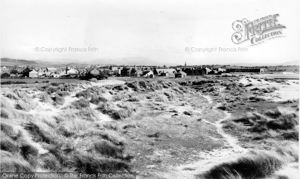 Haverigg, Village from the Sand Dunes c1960