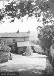 Melody House And Bigland c.1930, Haverthwaite