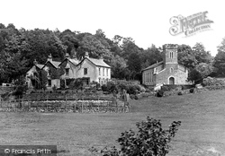 St Anne's Church And Vicarage c.1930, Haverthwaite