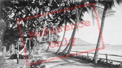 Diamond Head From Halekulani Hotel c.1935, Hawaii