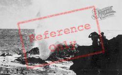 Halona Blowhole c.1935, Hawaii