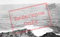 Halona Point, Blowhole And Marker c.1930, Hawaii