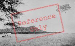 Honolulu, Diamond Head c.1935, Hawaii