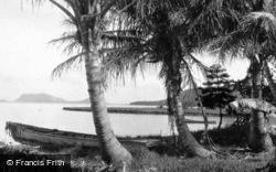 Honolulu, Kane'ohe Bay, Beach c.1935, Hawaii