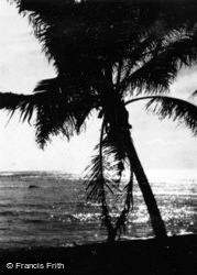 Honolulu, Sunset c.1935, Hawaii