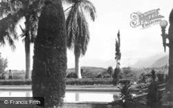 Laie Hawaii Temple, Garden c.1935, Hawaii