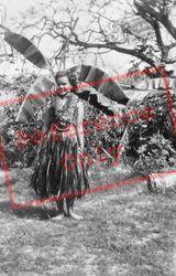 Lalani Hawaiian Village, Hula Girl c.1935, Hawaii
