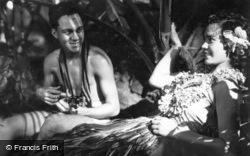 Lalani Hawaiian Village, Moikeha And Pualani c.1935, Hawaii