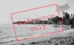 Waikiki Beach And Royal Hawaiian Hotel c.1935, Hawaii