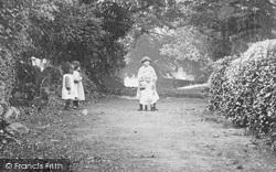 Hawarden, Children, The Wynt c.1900